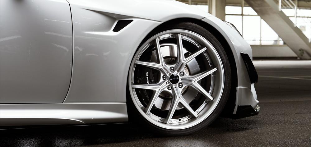 wald lexus lc500 lc500h sports line body kit fender i12c wheel 2017 2018