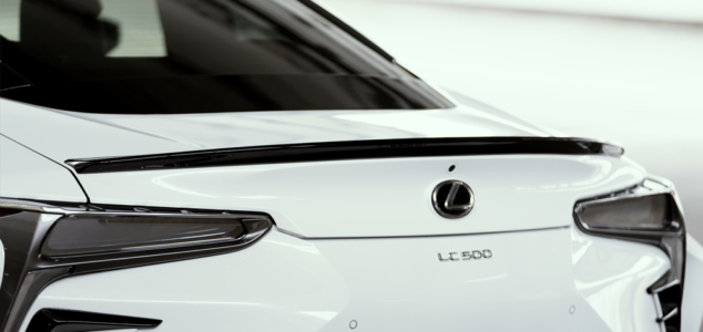 wald lexus lc500 lc500h sports line body kit trunk spoiler 2017 2018
