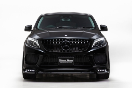 wald mercedes gle sports line body kit front spoiler led drl studio 2016 2017 2018