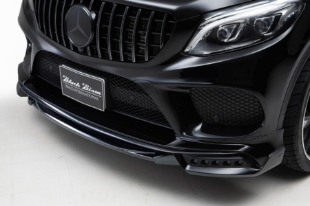 wald mercedes gle sports line body kit front spoiler led studio 2016 2017 2018
