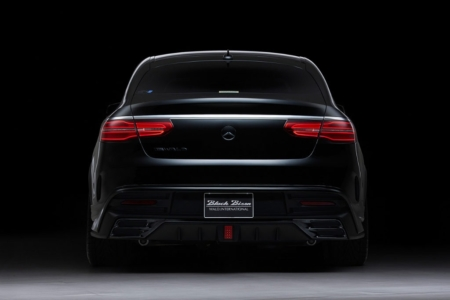 wald mercedes gle sports line body kit rear spoiler led brake lamp studio rear 2016 2017 2018