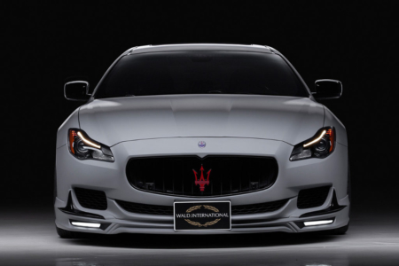 wald maserati quattroporte executive line body kit front spoiler led drl 2013 2014 2015 2016 2017 studio