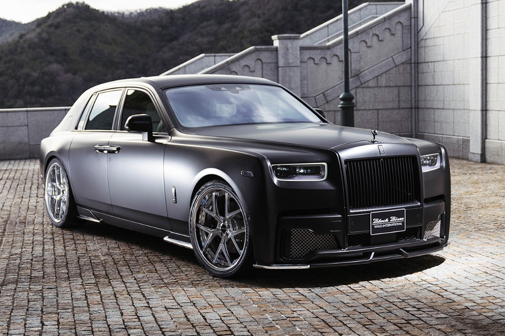 wald rolls royce phantom 8 viii black bison body kit front bumper side skirt set i13f wheel rim 2018