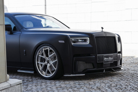 wald rolls royce phantom 8 viii black bison body kit front bumper side skirt set i13f wheel rim 2018 front half