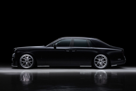 wald rolls royce phantom 8 viii black bison body kit side skirt set i13f wheel rim 2018 studio side