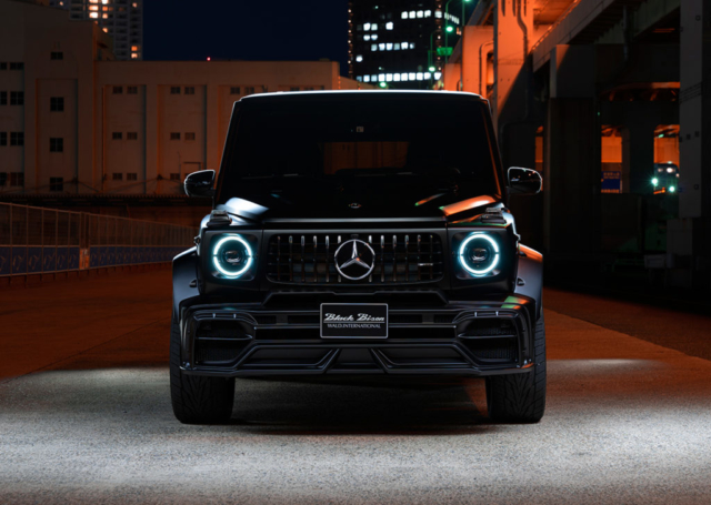 wald black bison w463a mercedes g class g63 g550 body kit front bumper black 2019 2020