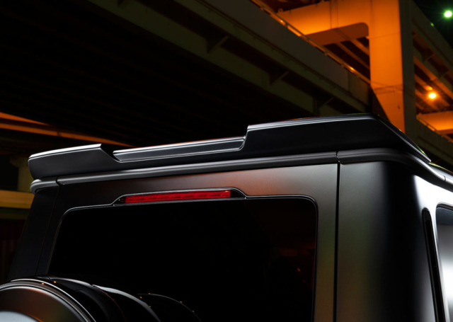 wald black bison w463a mercedes g class g63 g550 body kit roof wing spoiler black 2019 2020