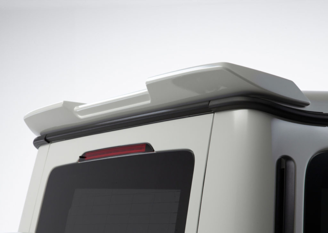 wald black bison w463a mercedes g class g63 g550 body kit studio roof wing spoiler white 2019 2020