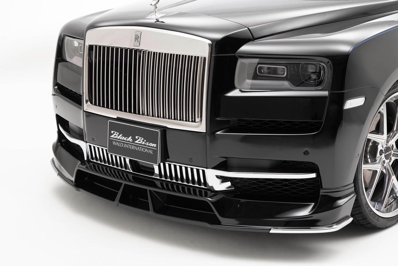 wald-black-bison-rolls-royce-cullinan-body-kit-front-lip-spoiler-angle-2019-2020