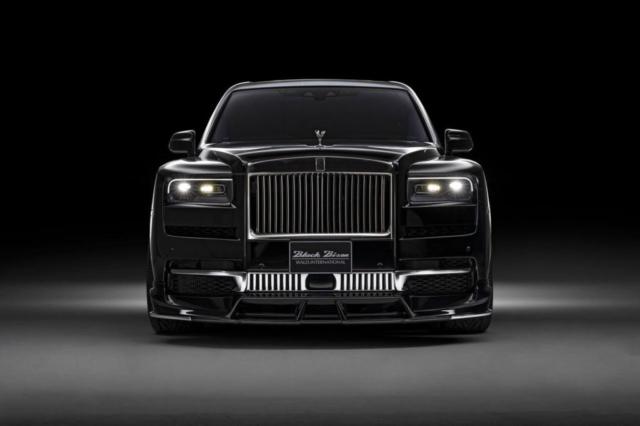 wald-black-bison-rolls-royce-cullinan-body-kit-front-lip-spoiler-front-studio-2019-2020