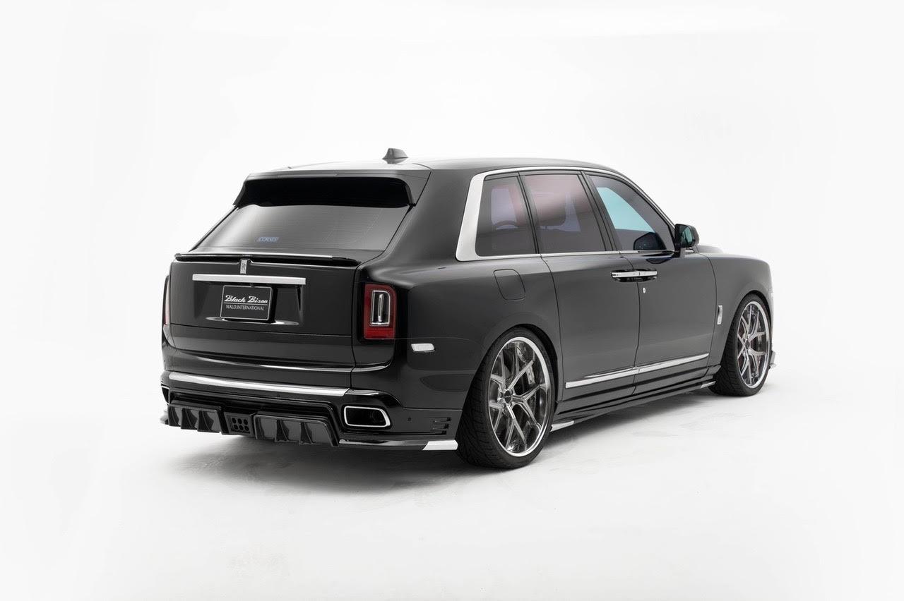 wald-black-bison-rolls-royce-cullinan-body-kit-rear-apron-trunk-spoiler-i13f-forged-wheel-2019-2020