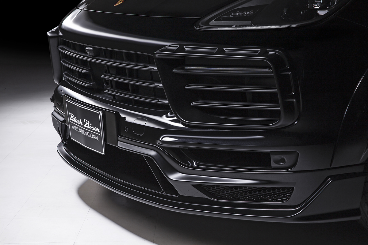 wald-cayenne-coupe-black-bison-front-apron-2019-2020-2021